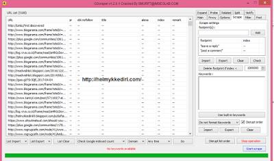 Memblokir Backlink Spam dengan Google Disavow4