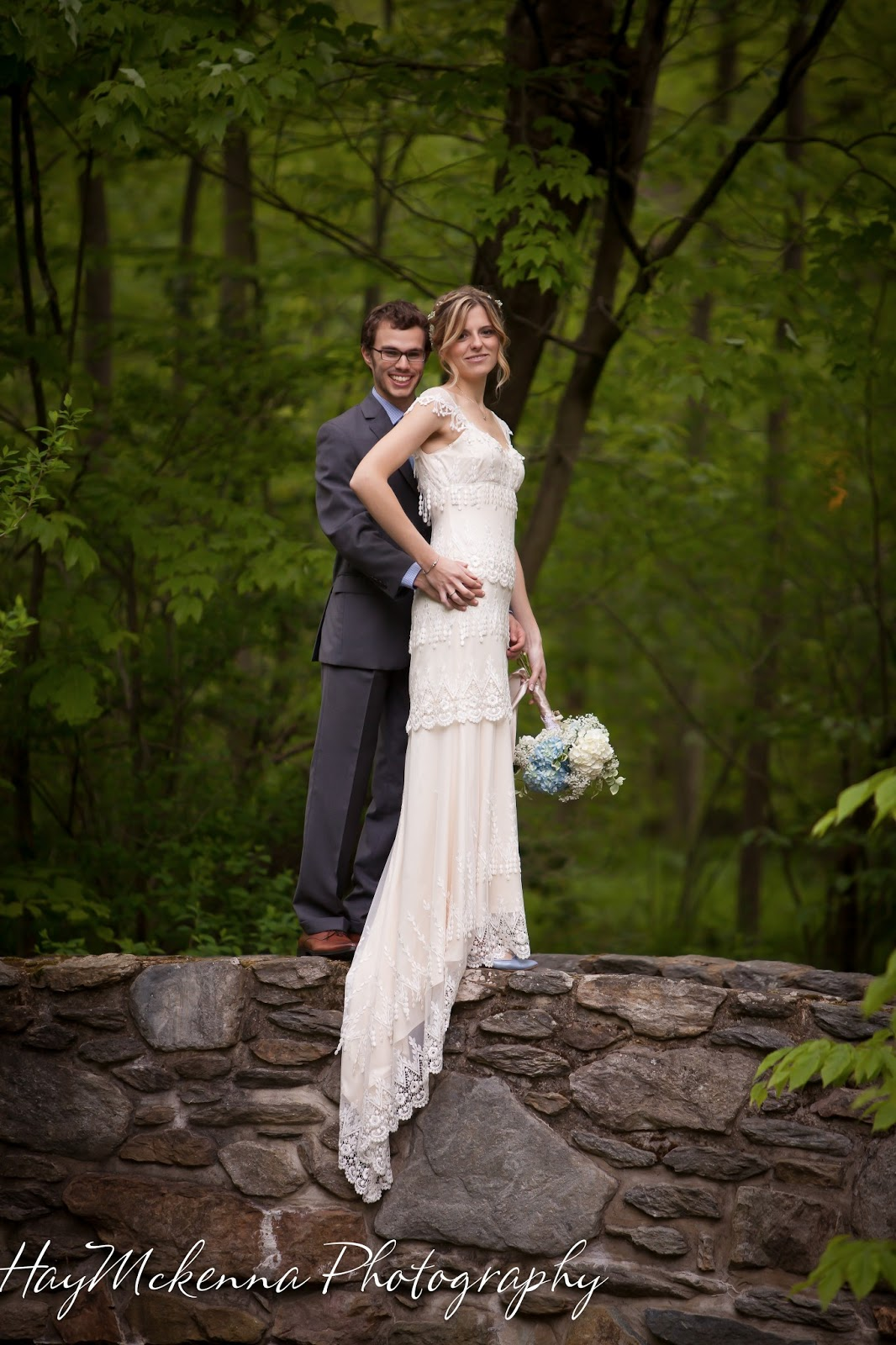 HayMckenna Photography: Outdoor Wedding in the Woods at ...