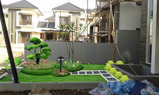 Membuat taman rumah