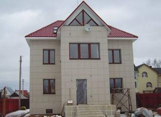 Вентилируемые фасады для индивидуального жилого дома, здания из керамогранита