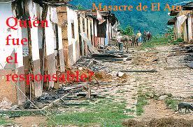 Las responsabilidades en la masacre de El Aro: Una verdad por desentrañar