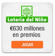 probabilidades de la loteria del niño de españa
