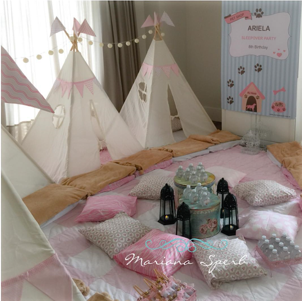 Best 25 Teepees Ideas On Pinterest: Decoración Para Tu Fiesta De Pijama Party