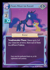 My Little Pony Fears Must be Faced Premiere CCG Card