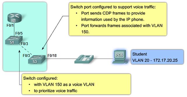 Voice VLANs