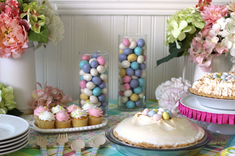 Spring Party Dessert Table Ideas