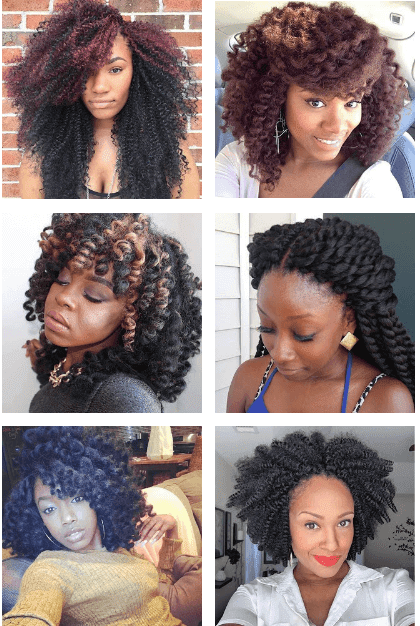 52 Styles Of Afro Crochet Braids Hairstyles For Black Hair