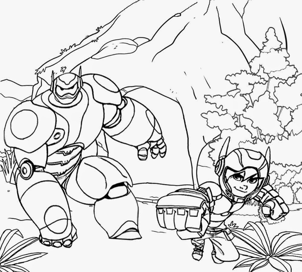 big hero 6 coloring pages for kids | Free Coloring Pages Printable Pictures To Color Kids ...