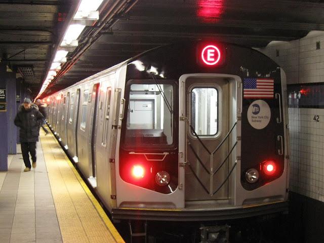 Metrô em Nova York