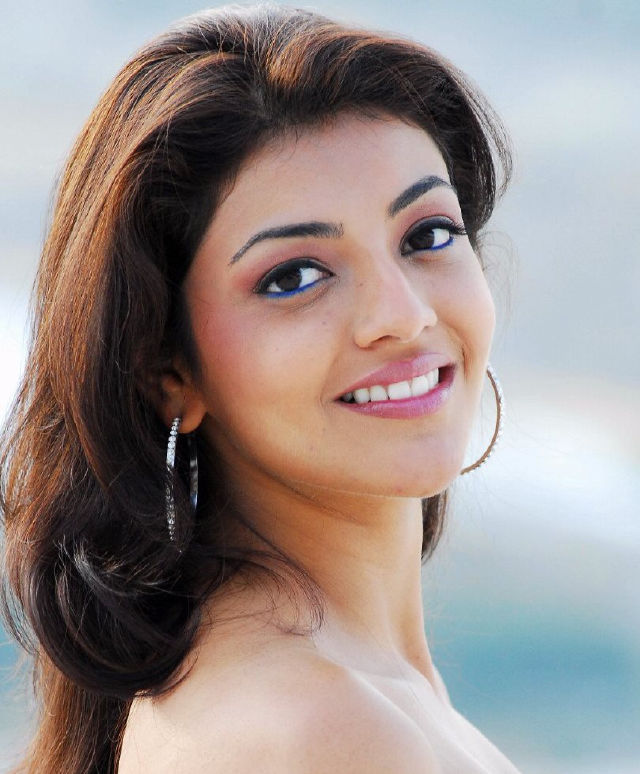 Kajal Aggarwal Real Face Closeup Without Makeup Pics