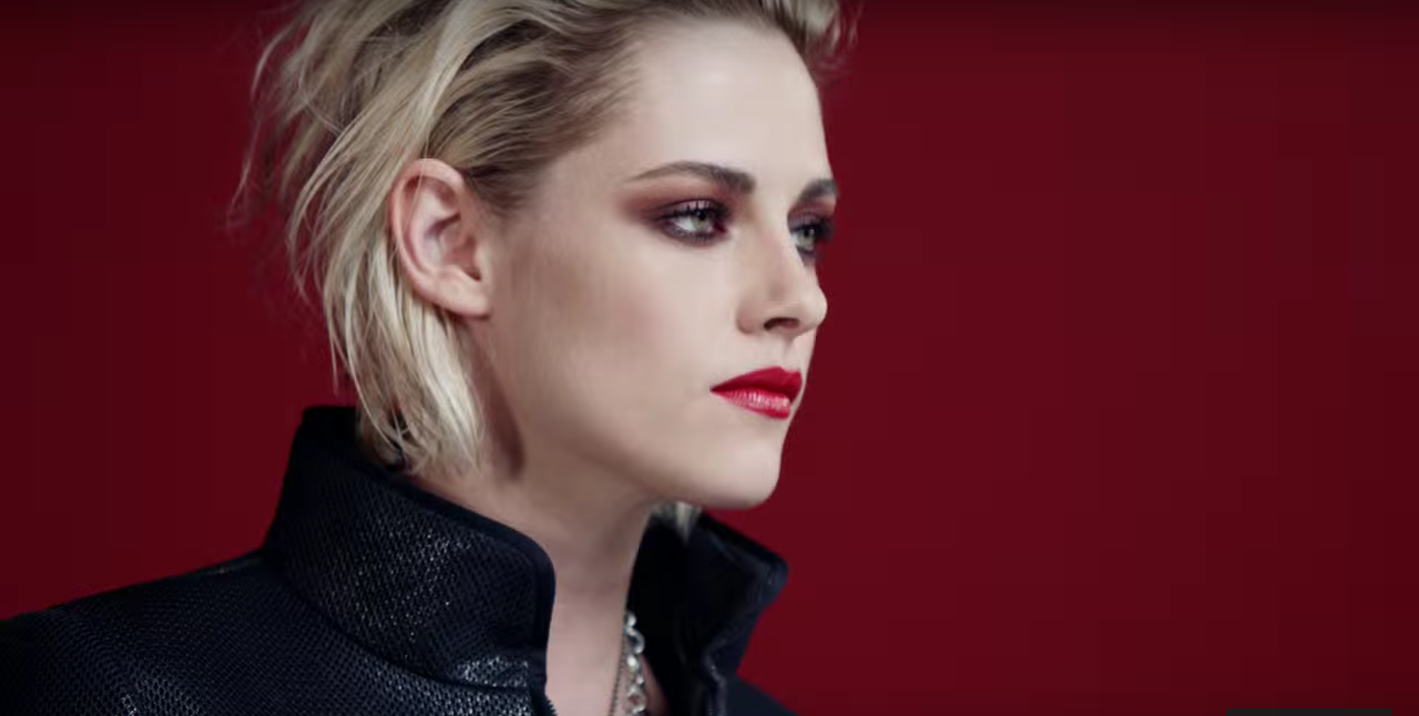 beauty talks chanel, red power, kristen stewart