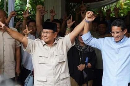 Sandi: Saya akan Berjuang di Samping Pak Prabowo hingga Titik Darah Penghabisan