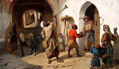 """Le métier """"ramadanesque"""" de Neffar au Maroc est en train de disparaitre"""