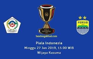 Persiwa Wamena vs Persib Bandung