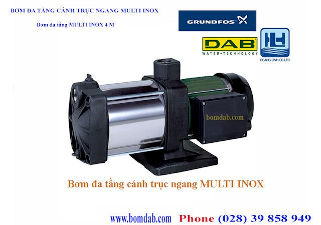 máy bơm cao cấp mini Multi Inox 4M