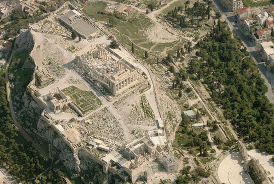 Visitação Templo Erecteion, Atenas