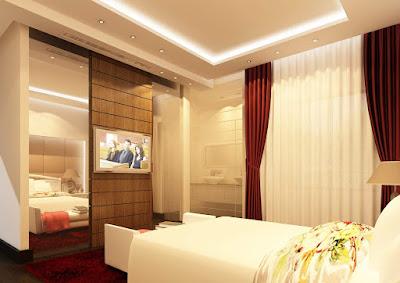 ديكورات وافكار تناسب مع غرف النوم الصغيرة بالصور