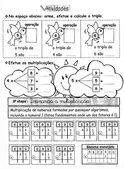 multiplica%25C3%25A7%25C3%25A3o%2B%25283%2529 Atividades Multiplicação