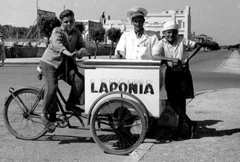 helados laponia foto vieja