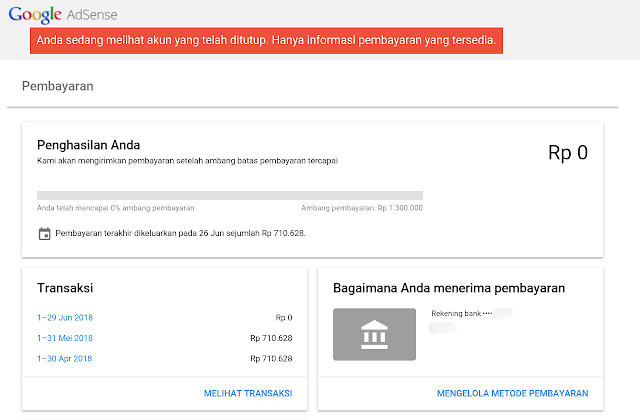 Pengalaman Cancel Akun Google Adsense dan Nunggu Cair Uangnya Pengalaman Cancel Akun Google Adsense dan Nunggu Cair Uangnya