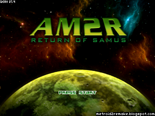 Project AM2R (Metroid 2 Remake) 1
