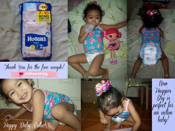 Comfort and Dryness from New Huggies Dry
