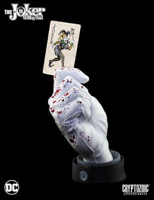 "San Diego Comic-Con 2017 Exclusive DC's The Joker Calling Card ""Bloody Noir"" Edition Statue by Cryptozoic Entertainment"