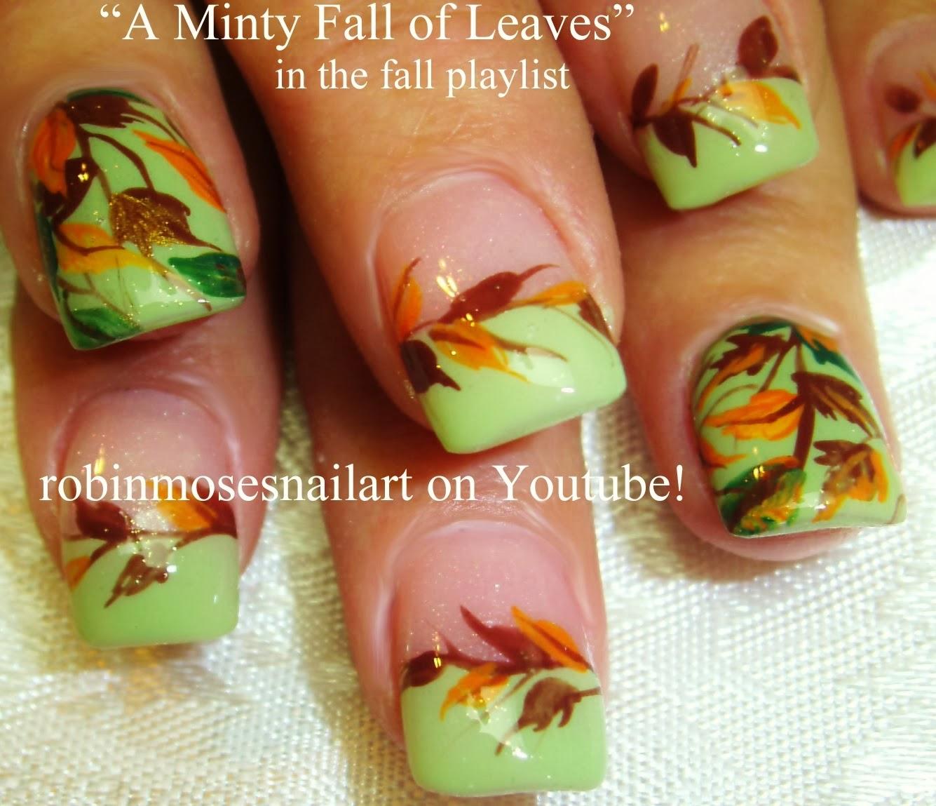 "Elegant Fall Autumn Toe Nail Art Designs Ideas Trends: Robin Moses Nail Art: ""Fall Nail Art"" ""elegant Fall Nails"