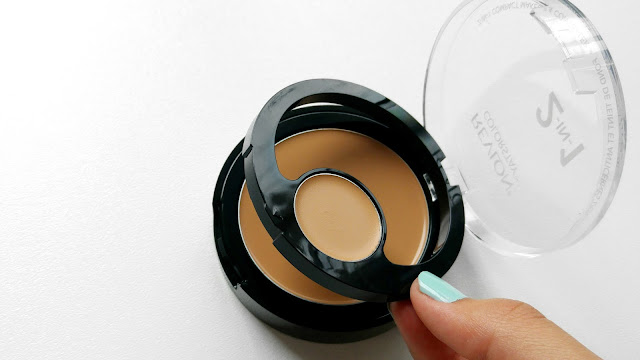 Revlon Colorstay 2 in 1 Compact Makeup and Concealer Review, Revlon Colorstay 2 in 1 Compact Makeup and Concealer Packaging