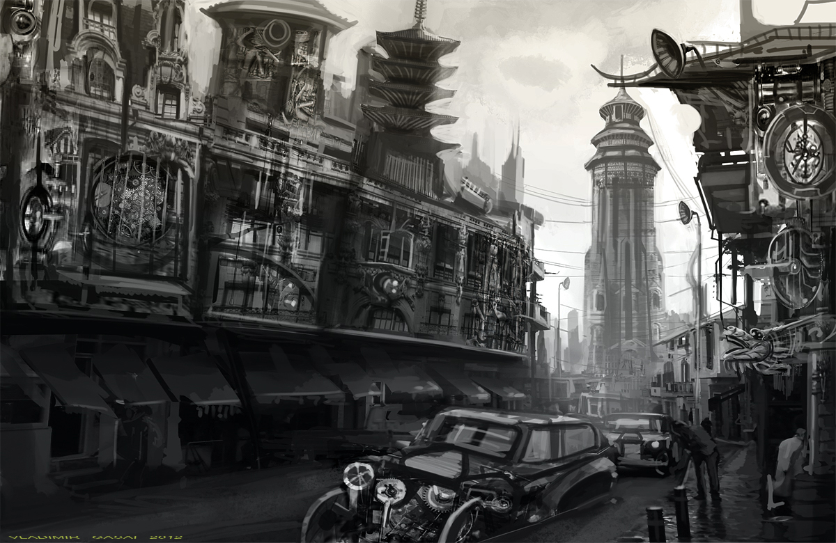 1412 best Characters: Steampunk images on Pinterest ...  |Victorian Steampunk Concept Art
