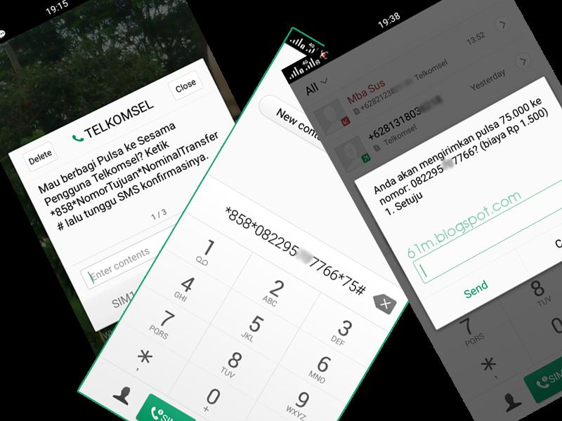 Cara Transfer Pulsa Telkomsel Simpati As Cepat Dan Mudah