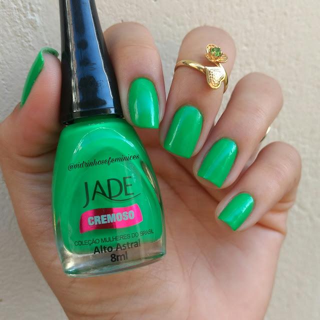 esmalte jade alto astral greenery pantone 2017