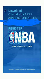 NBA APP SCREENSHOT 1