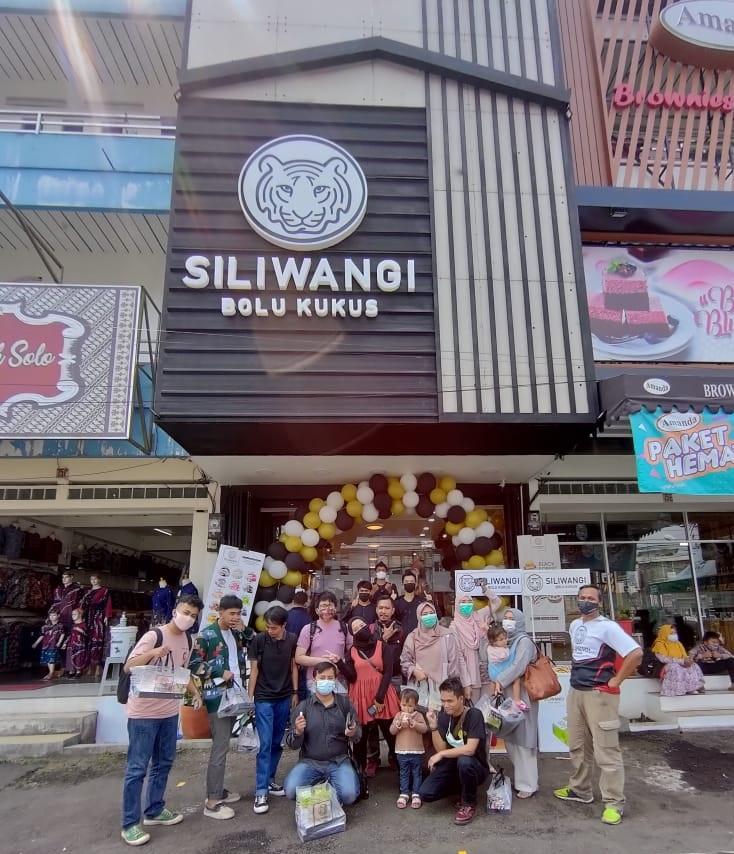 Lokasi Gerai Siliwangi Bolu Kukus Sukabumi