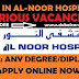 Jobs in Al-Noor Hospital  Abu Dhabi United Arab Emirates