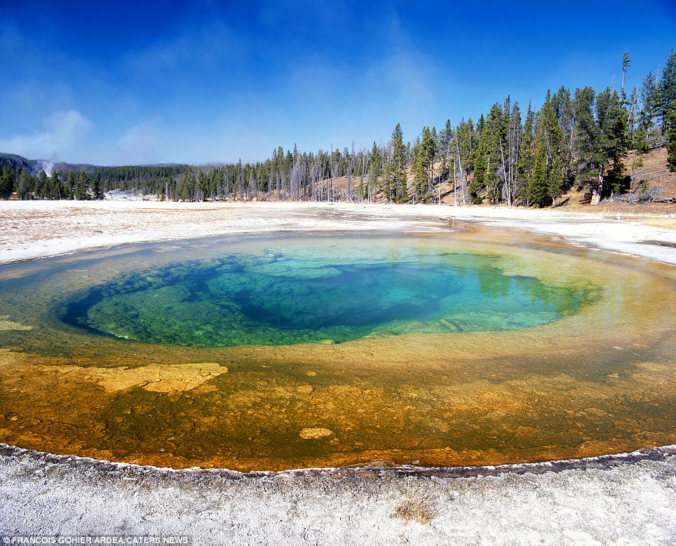 The Beauty Pool: (Yellowstone National Park, USA)