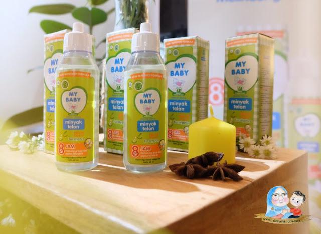 minyak telon anti nyamuk terbaik