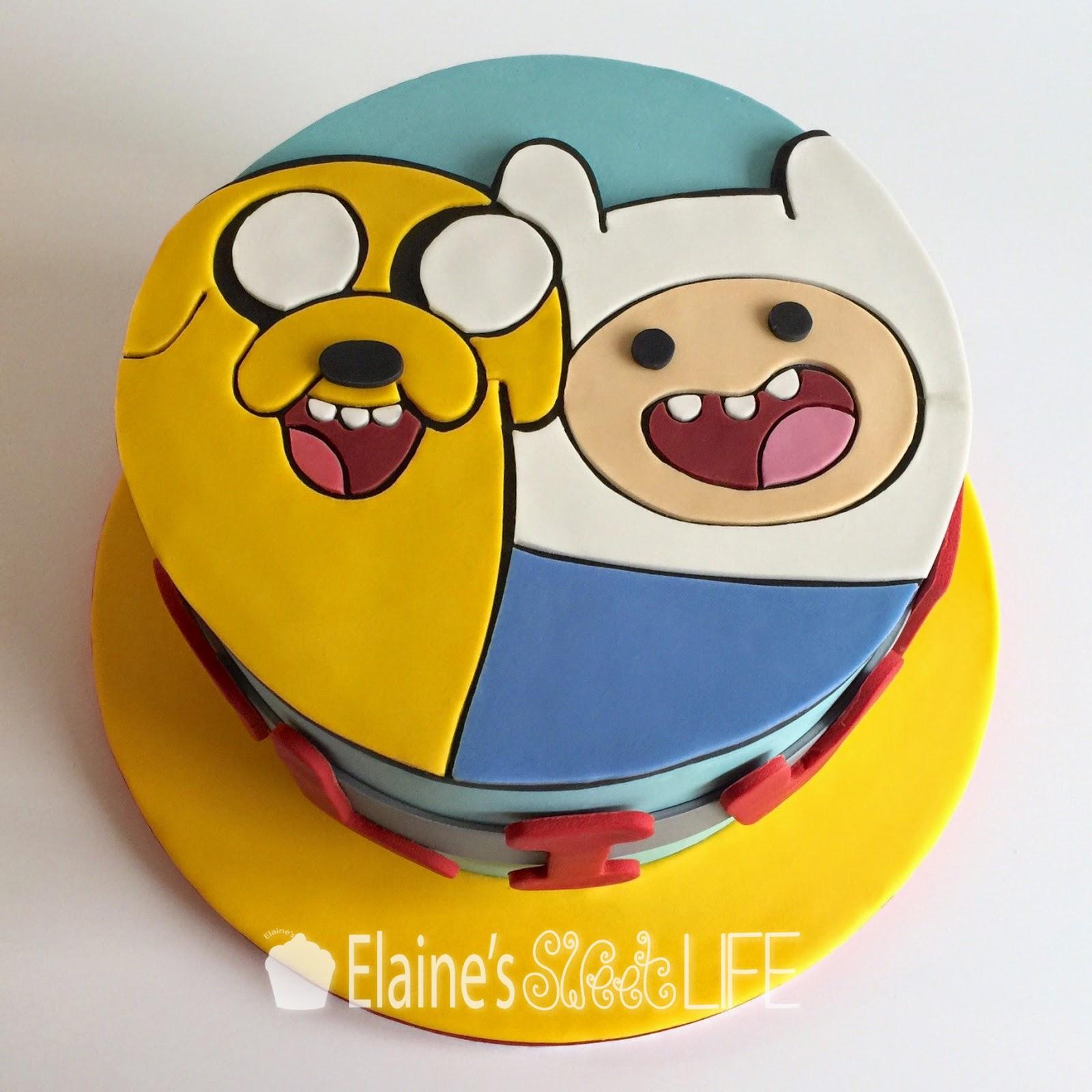 How To Make Adventure Time Cake