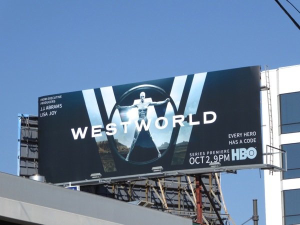Westworld series launch billboard