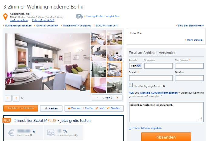 Raum Wohnung Berlin Friedrichshain