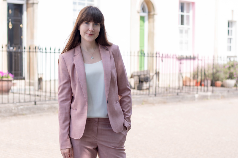 factory outlets search for best unique style Next Womens Pink Tailored Suit | The Style Rawr