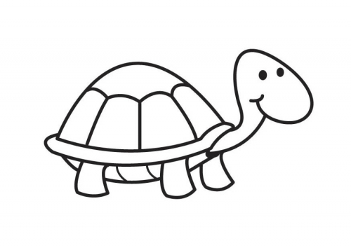 Dibujos De Tortugas Infantiles Para Colorear: Dibujos De Animales Para Colorear: TORTUGAS