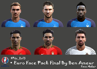 Euro 2016 FacePack Final Pes 2013 By Ben Ameur