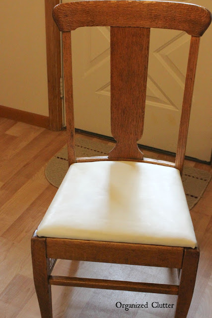 Vintage Kitchen Dining Chair Farmhouse Buffalo Check