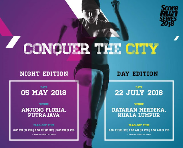 Score Run Series Night Edition 2018
