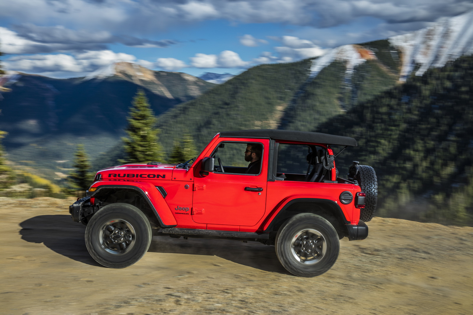 new jeep wragler's half doors won't be available until 2019