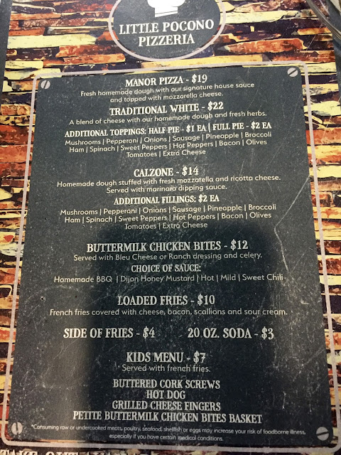 little pocono pizzeria menu