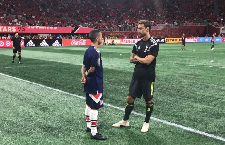 Juventus vincente ai calci di rigore contro MLS All Star.