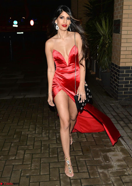 Jasmin Walia in stunning Red Gown ~  Exclusive Galleries 006.jpg