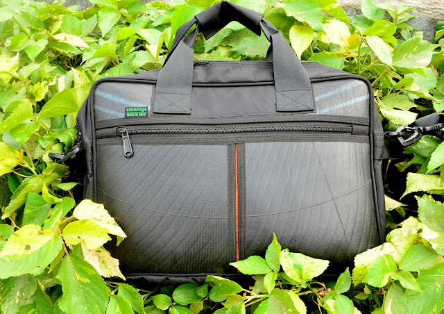 Upcycled Laptop Vegan Bag